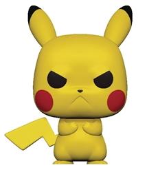 Picture of Pop Games Pokemon Grumpy Pikachu Vinyl Figure