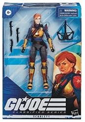 Picture of Gi Joe Classified Series 6in Scarlett Figure