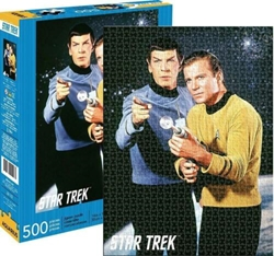 Picture of Star Trek Spock and Kirk 500-Piece Puzzle