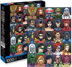 Picture of DC Faces 1,000-Piece Puzzle