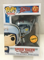 Picture of Pop Animation Speed Racer Speed in Helmet Chase Vinyl Figure