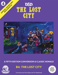 Picture of Dungeons and Dragons Original Adventures Reincarnated #4 Lost City HC