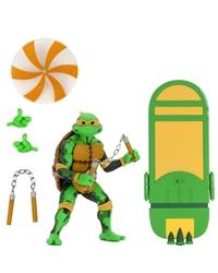 "Picture of Teenage Mutant Ninja Turtles Michelangelo Turtles in Time 7"" Action Figure"