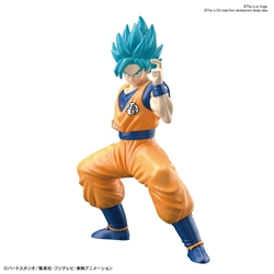 Picture of Dragon Ball Super Goku SSGSS Bandai Spirits Entry Grade Model Kit