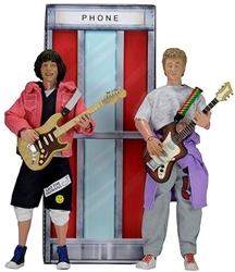 "Picture of Bill and Ted's Excellent Adventure 8"" Clothed Figure 2-Pack"