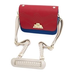Picture of Wonder Woman Swivel Lock Lasso Strap Cross Body Bag