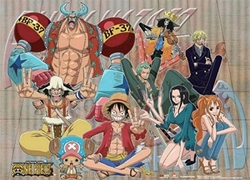 Picture of One Piece Straw Hat Crew Wall Scroll