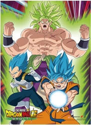 Picture of Dragon Ball Super Broly Group 1 Wall Scroll