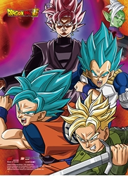 Picture of Dragon Ball Super Future Trunks SS Group Wall Scroll