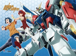 Picture of Gundam Build Fighters Group Wall Scroll