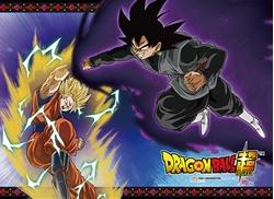 Picture of Dragon Ball Super Saiyan Goku VS Black Goku Wall Scroll