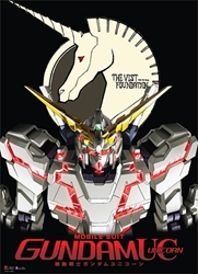 Picture of Gundam RX-0 Unicorn Wall Scroll