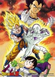 Picture of Dragon Ball Z Goku VS Frieza Wall Scroll