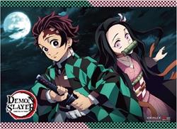 Picture of Demon Slayer Tanjirou and Nezuko B Wall Scroll