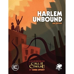Picture of Call of Cthulhu RPG Harlem Unbound HC Second Edition