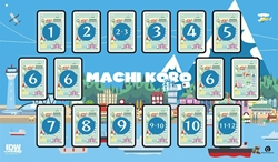 Picture of Machi Koro Deluxe Game Mat