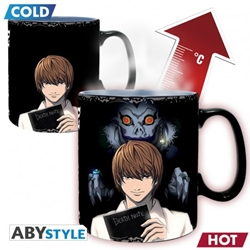 Picture of Death Note Kira and L Heat-Change Mug