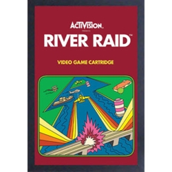 Picture of Activision River Raid Framed Print