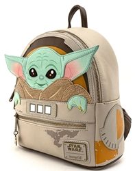 Picture of Star Wars Mandalorian Child Craddle Mini Backpack