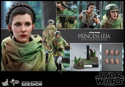 Picture of Star Wars Princess Leia Return of the Jedi Hot Toy Figure