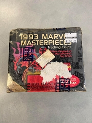 Picture of 1993 Marvel Masterpieces Trading Cards Factory Sealed