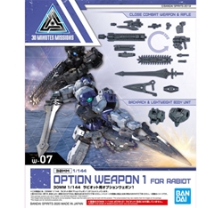 Picture of Gundam 30 Minute Missions Option Weapon 1 for Rabiot 30MM Model Kit