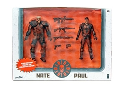 Picture of Die Die Die Nate and Paul Action Figure Set