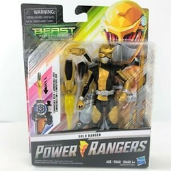 "Picture of Power Rangers Beast Morphers Gold Ranger 6"" Figure"