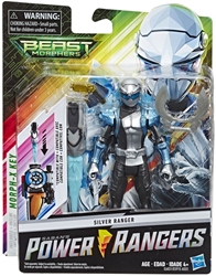 "Picture of Power Rangers Beast Morphers Silver Ranger 6"" Figure"