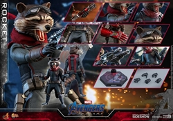 Picture of Avengers Endgame Rocket Raccoon Sixth Scale Hot Toys