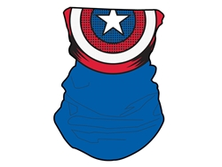 Picture of Captain America Neck Gaiter Face Mask