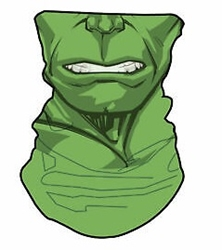 Picture of Hulk Neck Gaiter Face Mask