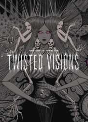Picture of Art of Junji Ito Twisted Visions HC