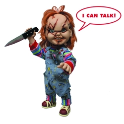 "Picture of Child's Play Talking Chucky 15"" Mega Scale Figure"