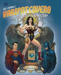 Picture of DC Comics Variant Covers Complete Visual History HC Cho Cover
