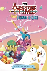 Picture of Adventure Time Fionna and Cake SC Bash Blues