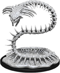 Picture of Dungeons and Dragons Nolzur's Marvelous Unpainted Bone Naga Miniatures