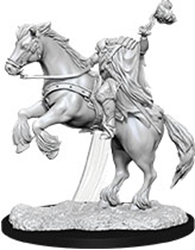 Picture of Dungeons and Dragons Nolzur's Marvelous Unpainted Dullahan (Headless Horseman) Miniatures