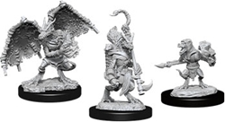 Picture of Dungeons and Dragons Nolzur's Marvellous Unpainted Kobold Inventor, Dragonshield and Sorcerer Miniatures