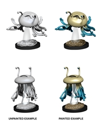 Picture of Dungeons and Dragons Nolzur's Marvelous Unpainted Flumph Miniatures