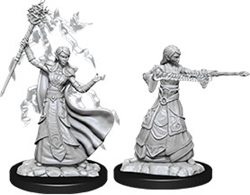 Picture of Dungeons and Dragons Nolzur's Marvellous Unpainted Elf Female Wizard Miniatures