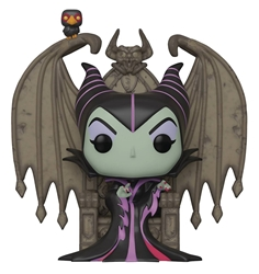 Picture of Pop Deluxe Disney Villains Maleficent on Throne Vinyl Figure