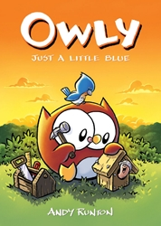 Picture of Owly Color Edition Vol 02 SC Just A Little Blue