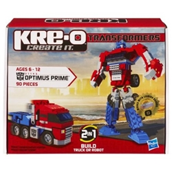 Picture of Transformers Optimus Prime Kre-O Figure