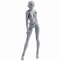 Picture of Body-chan DX Set [Gray Color Ver] s.h.Figuarts Action Figure