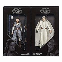 Picture of Star Wars Rey and Luke Skywalker 2-Pack Action Figure Set