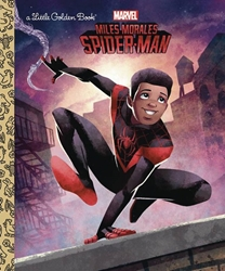 Picture of Miles Morales Spider-Man Little Golden Book