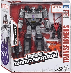 Picture of Transformers Decepicon Megatron War for Cybertron Trilogy Action Figure