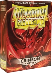 Picture of Dragon Shields Matte Crimson Card Sleeves