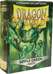 Picture of Dragon Shields Matte Apple Green Card Sleeves